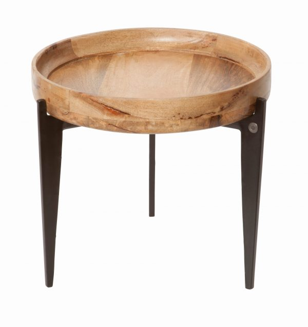 TOM TAILOR diivanilaud 'T-TRAY TABLE SMALL', kandikuga, ø 46cm