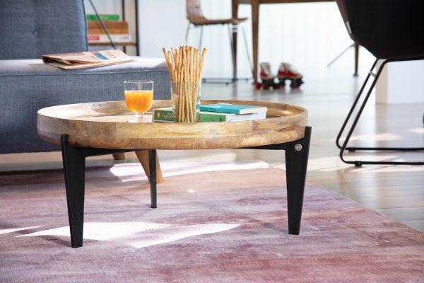 TOM TAILOR diivanilaud 'T-TRAY TABLE LARGE', kandikuga, ø 75cm