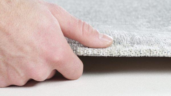 TOM TAILOR vaip 'FINE LINES', silver, kõrgus 5mm, erinevad mõõdud