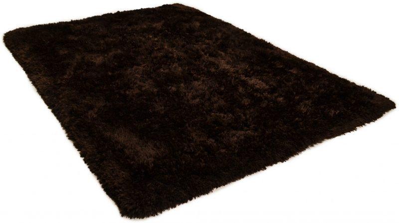 TOM TAILOR vaip 'FLOCATIC', dark brown, 60mm kõrge, erinevad mõõdud