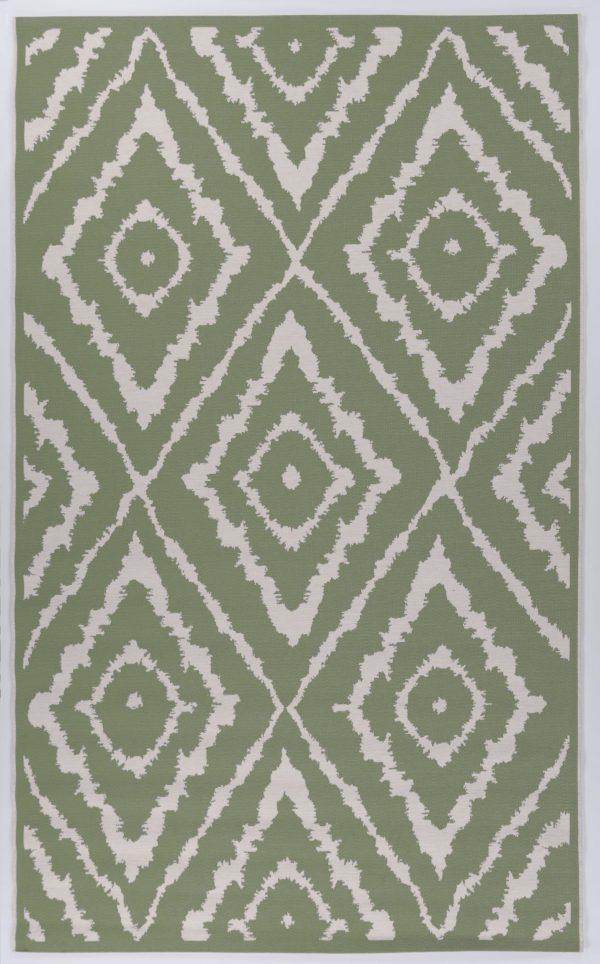 TOM TAILOR vaip 'GARDEN PATTERN', green,  sise- ja välistingimustesse, erinevad mõõdud