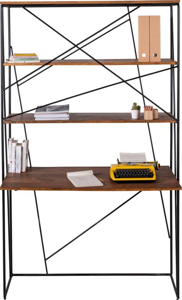 TOM TAILOR kirjutuslaud-riiul 'NESTSHELF OFFICE', mangopuidust