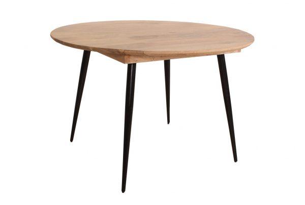 TOM TAILOR söögilaud 'T-SOHO TABLE ROUND', mangopuidust, ⌀ 120cm