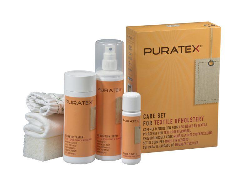 PURATEX® puhastuskomplekt tekstiilkangale