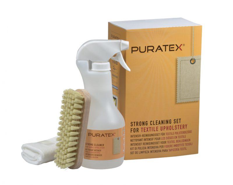 PURATEX® plekieemaldus-/puhastuskomplekt tekstiilkangale