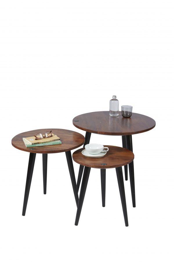 TOM TAILOR abilaud 'T-WOOD TABLE HIGH', ø 50cm