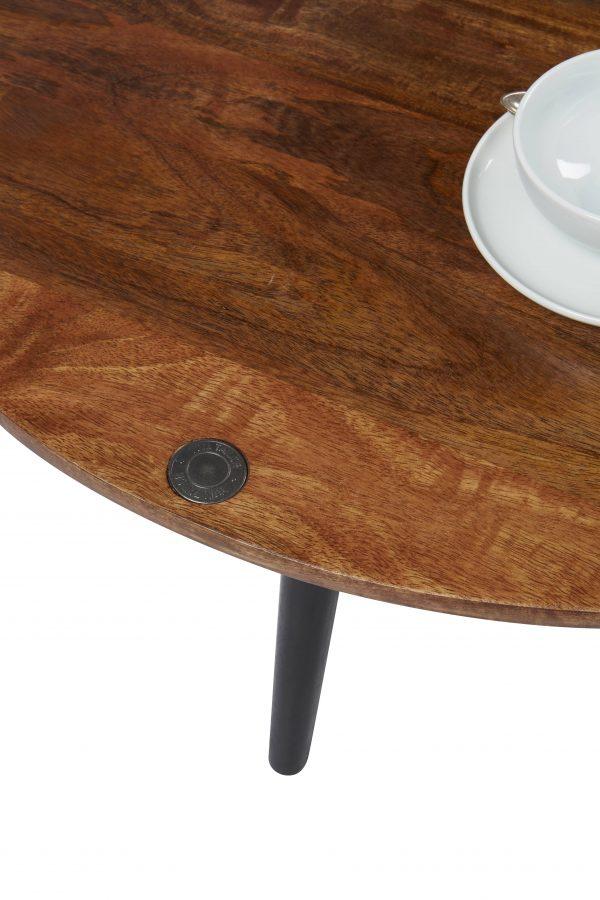 TOM TAILOR diivanilaud 'T-WOOD TABLE LARGE', ø 80cm
