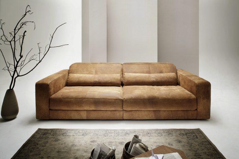 Luksuslik XL diivan 'BE SENSUAL', nahk Prestige+, erinevad mõõdud