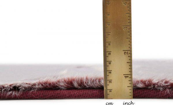 TOM TAILOR vaip 'FURRY', berry, kõrgus 25mm, erinevad mõõdud