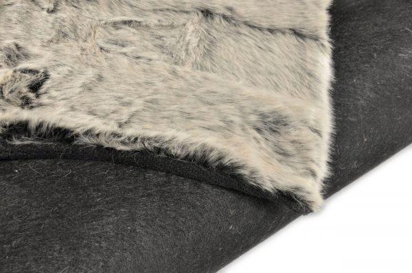 TOM TAILOR vaip 'FURRY', platin, kõrgus 25mm, erinevad mõõdud