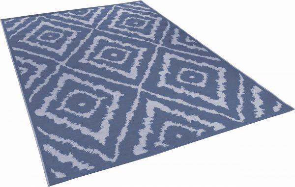 TOM TAILOR vaip 'GARDEN PATTERN', blue,  sise- ja välistingimustesse, erinevad mõõdud