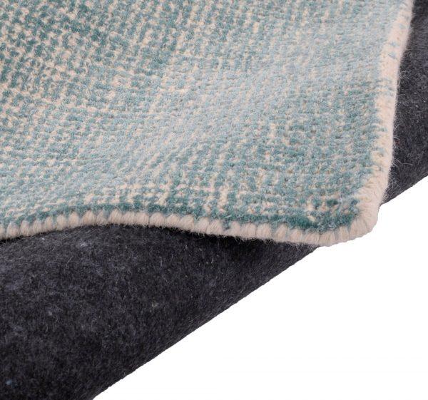 TOM TAILOR vaip 'GROOVE', turquoise,  kõrgus 15mm, erinevad mõõdud