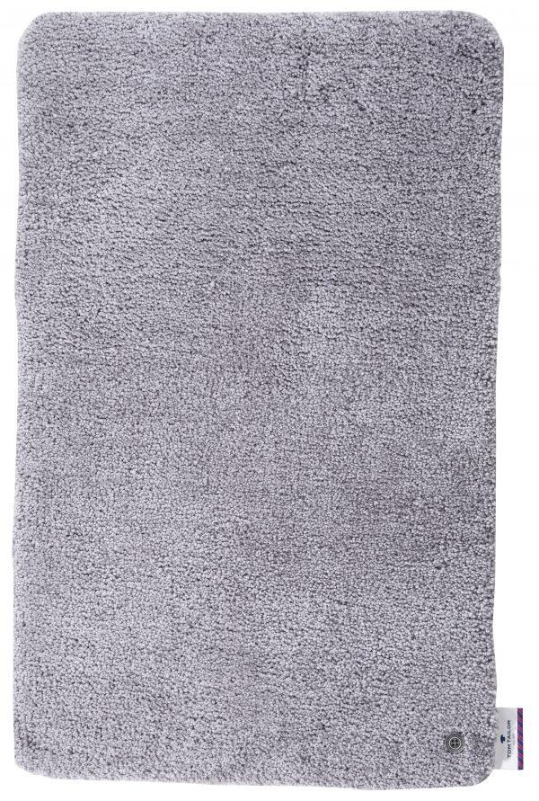 TOM TAILOR vannitoavaip 'SOFT BATH UNI', silver, kõrgus 25mm, erinevad mõõdud