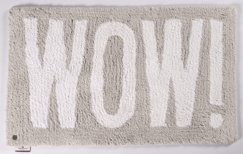 TOM TAILOR vannitoavaip 'COTTON DESIGN WOW', kõrgus 20mm, erinevad mõõdud