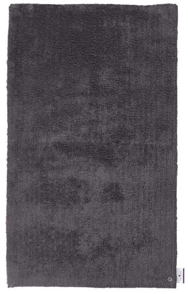 TOM TAILOR vannitoavaip 'COTTON DOUBLE UNI', anthracite, kõrgus 20mm, erinevad mõõdud