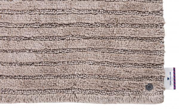TOM TAILOR vannitoavaip 'COTTON STRIPES', sand, kõrgus 20mm, erinevad mõõdud