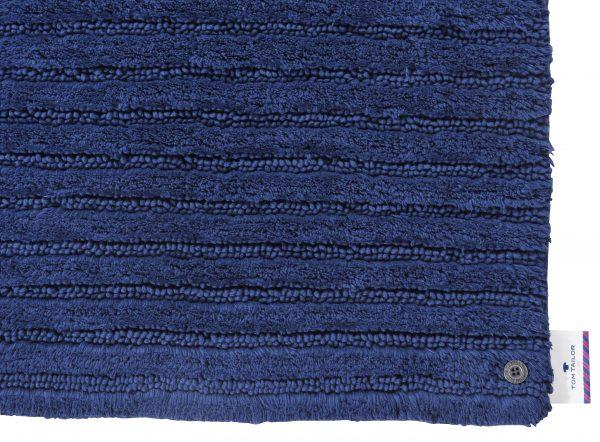 TOM TAILOR vannitoavaip 'COTTON STRIPES', navy, kõrgus 20mm, erinevad mõõdud