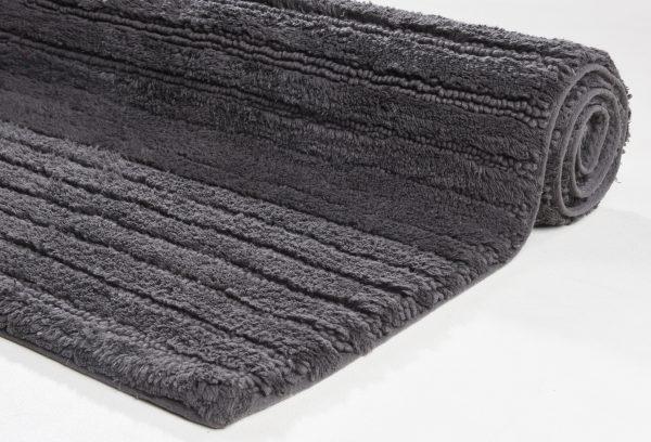 TOM TAILOR vannitoavaip 'COTTON STRIPES', anthracite, kõrgus 20mm, erinevad mõõdud