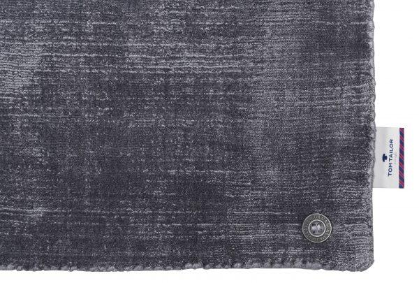 TOM TAILOR vaip 'SHINE UNI', anthracite, kõrgus 10mm, erinevad mõõdud