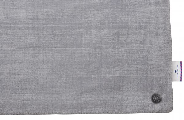 TOM TAILOR vaip 'SHINE UNI', silver, kõrgus 10mm, erinevad mõõdud