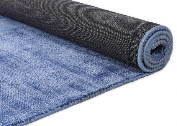 TOM TAILOR vaip 'SHINE UNI', blue, kõrgus 10mm, erinevad mõõdud
