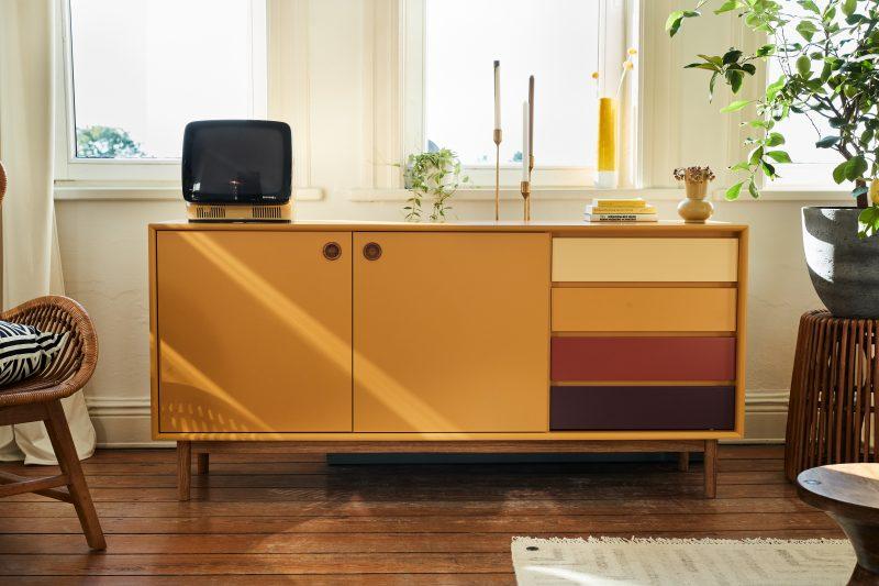 TOM TAILOR kummut 'COLOR BOX LARGE SIDEBOARD', erinevad värvid, laius 170cm