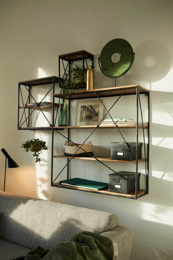 TOM TAILOR seinariiul 'T-NEST SHELF WALL EXTRA SMALL', mangopuidust