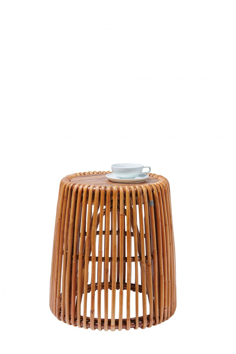 TOM TAILOR abilaud 'T-RATTAN SIDE TABLE HIGH'