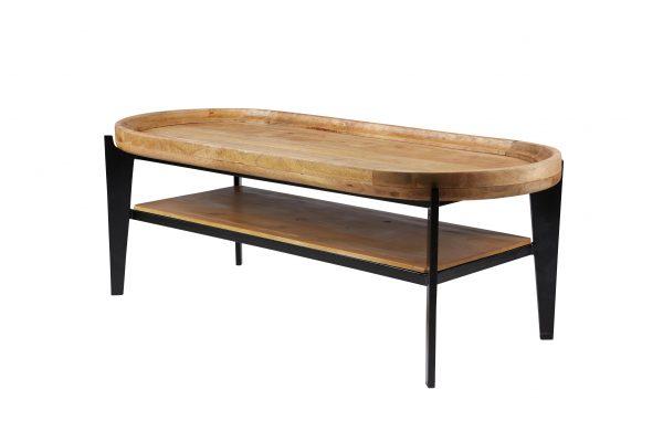 TOM TAILOR diivanilaud 'T-TRAY TABLE LONG', riiuli ja kandikuga