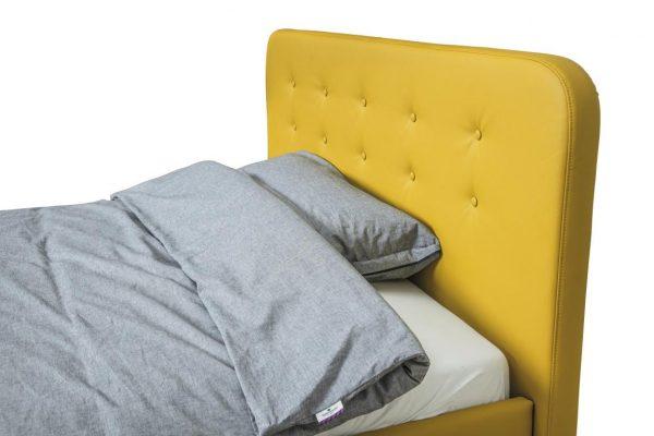 TOM TAILOR voodi 'NORDIC BED STORAGE', voodipõhja ja pesukastiga