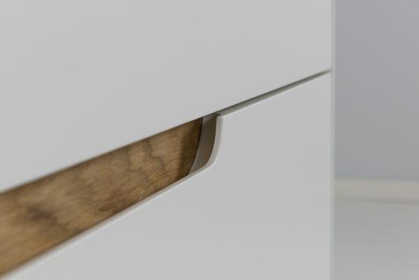 TENZO kummut 'SWITCH', 4 sahtlit, 2 värvi
