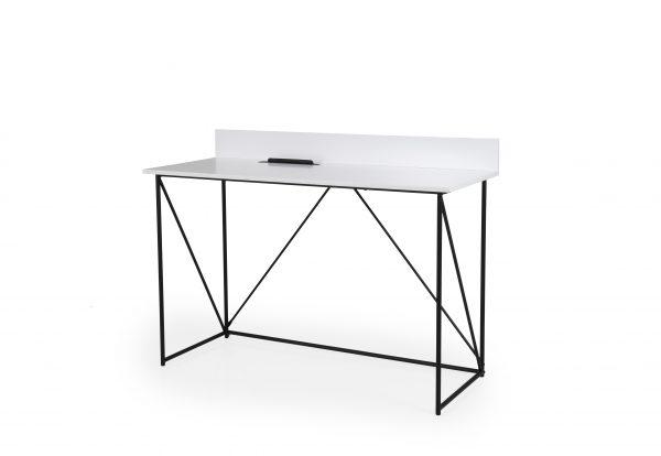 TENZO kontorilaud / kirjutuslaud 'TELL', 120x48x86cm, valge