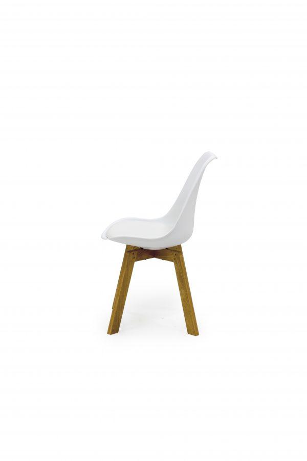TENZO söögilaua tool 'CLEO', 3 värvi, tammepuidust jalad