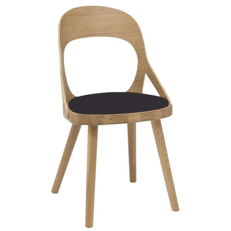 HANS K tammepuidust söögilaua tool 'COLIBRI', erinevad viimistlused