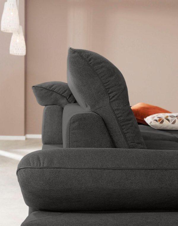 W.SCHILLIG nurgadiivan 'enjoy&MORE', reguleeritav istumissügavus, peatoed ja käetoed