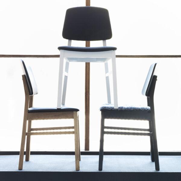 HANS K söögilaua tool 'VERONA', erinevad viimistlused